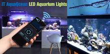Wifi Rohs LED Aquarium Light Sunrise Sunset Moonlight Remote Control AquaOcean IT5012 Rohs LED Aquarium Light