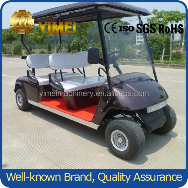 250CC gasoline power golf cart for 4 person