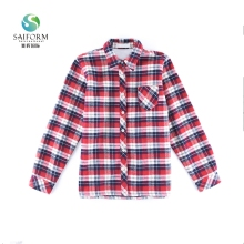 Ladies blouse dress model fabric women shirt