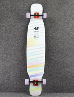 2017 bamboo longboard for dancing canadian maple dance longboard complete