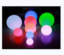 RGB color change solar pool ball led floating pool decorations balls of light for