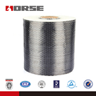 HORSE 0.111mm thick unidirectional weave 200g/sqm carbon fiber fabric for building reinforcemnt