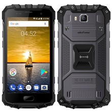 Ulefone Armor 2 Octa core NFC cellular phone Unlocked 6GB RAM GPS waterproof Rugged 4G LTE android smart mobile phone for Sports