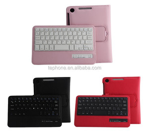 "Aluminum Wireless Blue Tooth Keyboard, for Google Nexus 7"" 2 Keyboard with Germany, Italy, Russian and Multi-NS207"