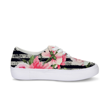 Custom brand name 1 pc lady casual canvas shoes with your own design