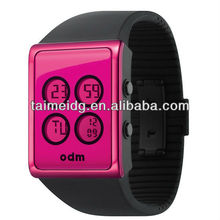 TM-1357 fashion 2013 Sell Well Girl LED Watch flashlight watch