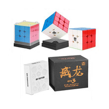 New Selling Moyu GTS 3 M Weilong 3x3x3 Magic Puzzle magnetic GTS V3 Cube for toy educational