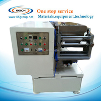Lithium ion battery Al/Cu foil coating machine for lab research