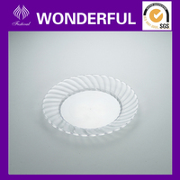 clear plastic plates for parties