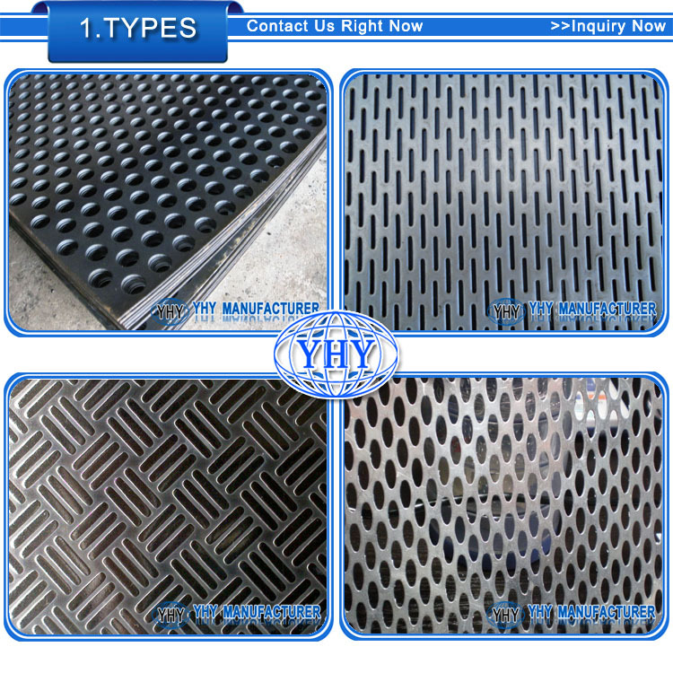 Exterior Decorative Perforated Metal Panel Perforated