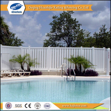 plastic used pvc safety privacy pool fences designs