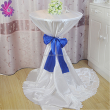 High quality wholesale satin oval crochet tablecloth
