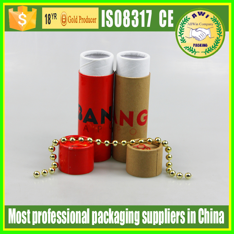 deodorant paper tube container kraft paper twist up tube for perfume with custom logo