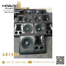 LE1200 powered speakers waterproof 12inch outdoor audio stage peavey monitor speakers system by RYS AUDIO