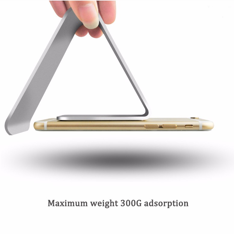 2016 Universal nano micro suction mobile phone aluminum stand for ipad