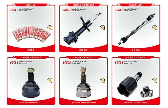 Best quality promotional drive shaft subtle auto spare part outer cv joint
