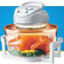 Halogen oven with detachable power cord