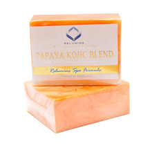 Skin Lightening Whitening Bleaching Soap Bars Glycerin 70g Papaya Kojic Acid Soap