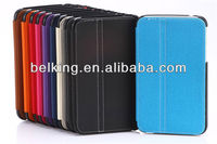 New 2in1 tablet PU leather case for Samsung Galaxy Tab3 p3200 fold case