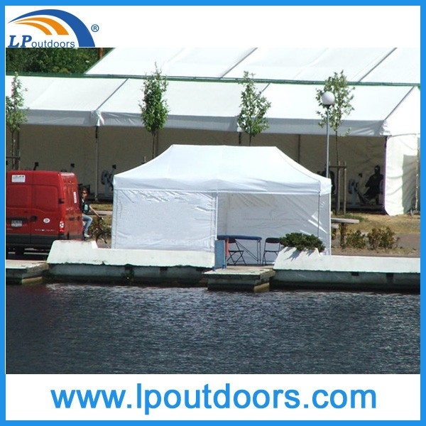 Outdoor commercial 3x4.5m folding canopy tent for advertising