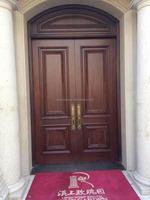 Villa Solid Wood Paint Colors Exterior Door