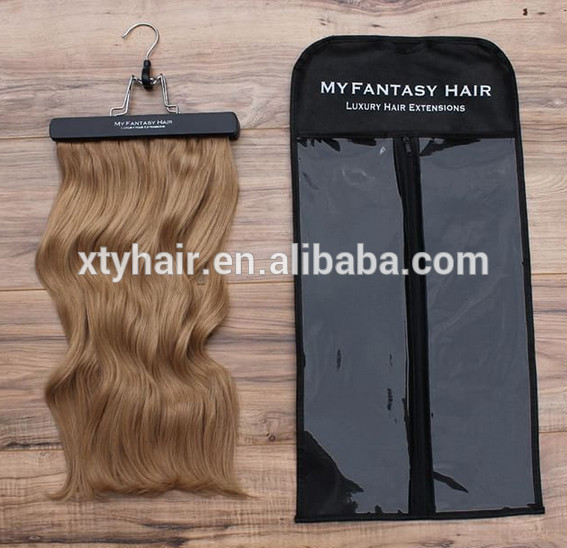 Hair Extension Packaging Bag Silk And Satin Bags For