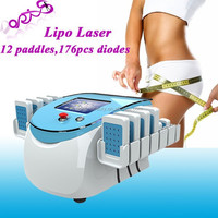 Doris portable easy operating beauty equipment cold laser slimming device / lipo laser slimming euqipment / cool laser