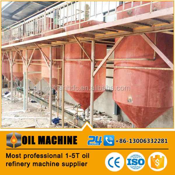 Small scale crude oil refinery and mini soya oil refinery plant