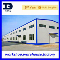 widely used steel structure prefabricated frame industrial shed