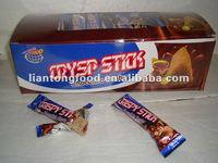 hot sale chocolate center crispy biscuit stick