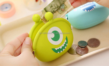 Kids love, fashion and interesting cheap custom design logo silicone wallets for kids