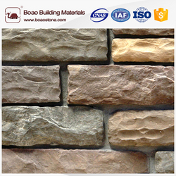 Popular outdoor simulated stone artificial stone slate