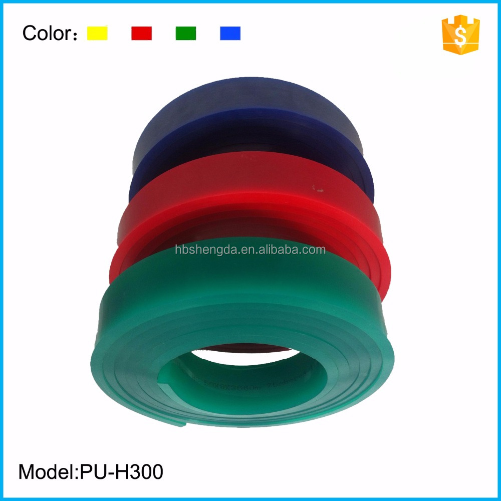 China Factory screen printing polyurethane squeegee for malaysia market