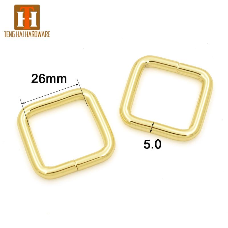 Different Sizes of Metal Square Rings for Sale