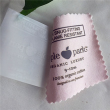 Garment Heat Seal Care Label