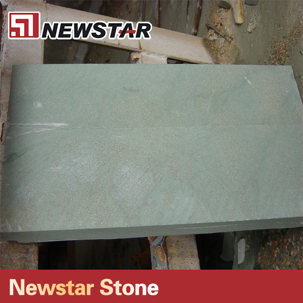 Natural Green Color Price Sandstone Buyer