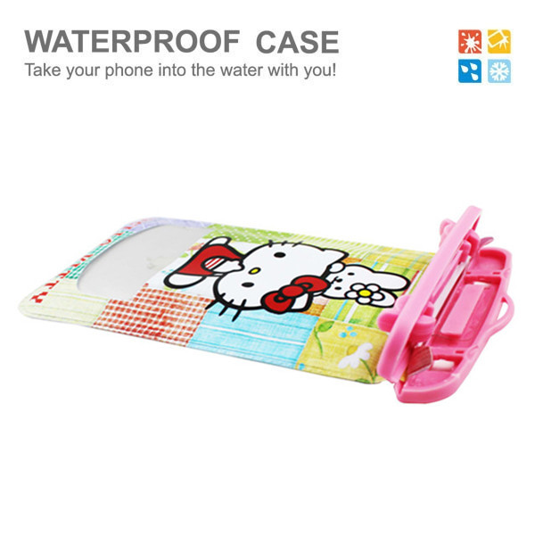 2015 Fashion cute waterproof case for iphone 6 plus waterproof case