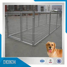 OEM Or ODM Welcomed Galvanized Or Powder Coated Large Style Dog friendly Metal Dog cage