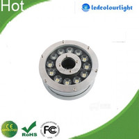 18W IP68 led underwater light with stainless steel fixture