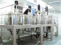 Factory directly sell Hair conditioner mixing tank shampoo making machine liquid detergent mixer