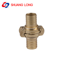 Brass Nakajima Fire Hose Couplings For Hose Connection