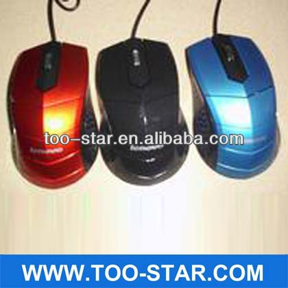 Computer Accessory Wired usb Optical Mouse for Gamer