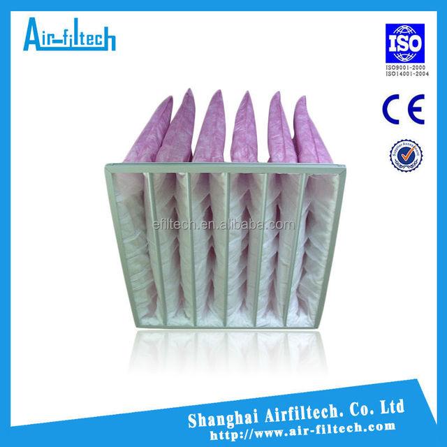 ABS/ PP pocket bag filter plastic air filter frame