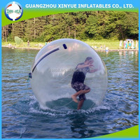 Cheap and commercial use inflatable water running ball