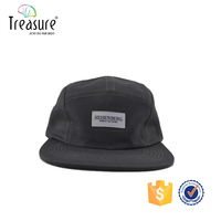 Custom Logo Wholesale Design Your Own 5 Panel Hat Cap/Blank Wholesale 5 Panel Hats/Leather