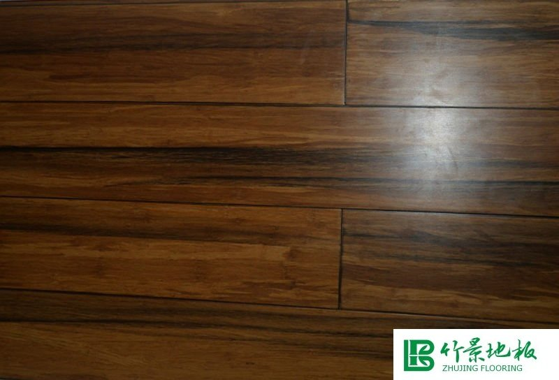 Antique style Strand woven bamboo flooring -click