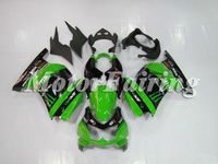 for kawasaki ninja 250r 250r ninja ex250 bodykit ex 250 2008-2009 250 ninja motorcycle 08-09 ninja 250r accessories green black