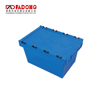 600x400x325mm stackable turnover gross plastic moving crate box