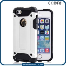 Mobile Phone Accessories Crashproof Soft TPU+ Hard PC Phone Case for iPhone 5c