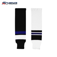 wholesale design professional cheap unique novelty field hockey socks knitted unique 100% polyester